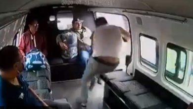 asalto a transporte público