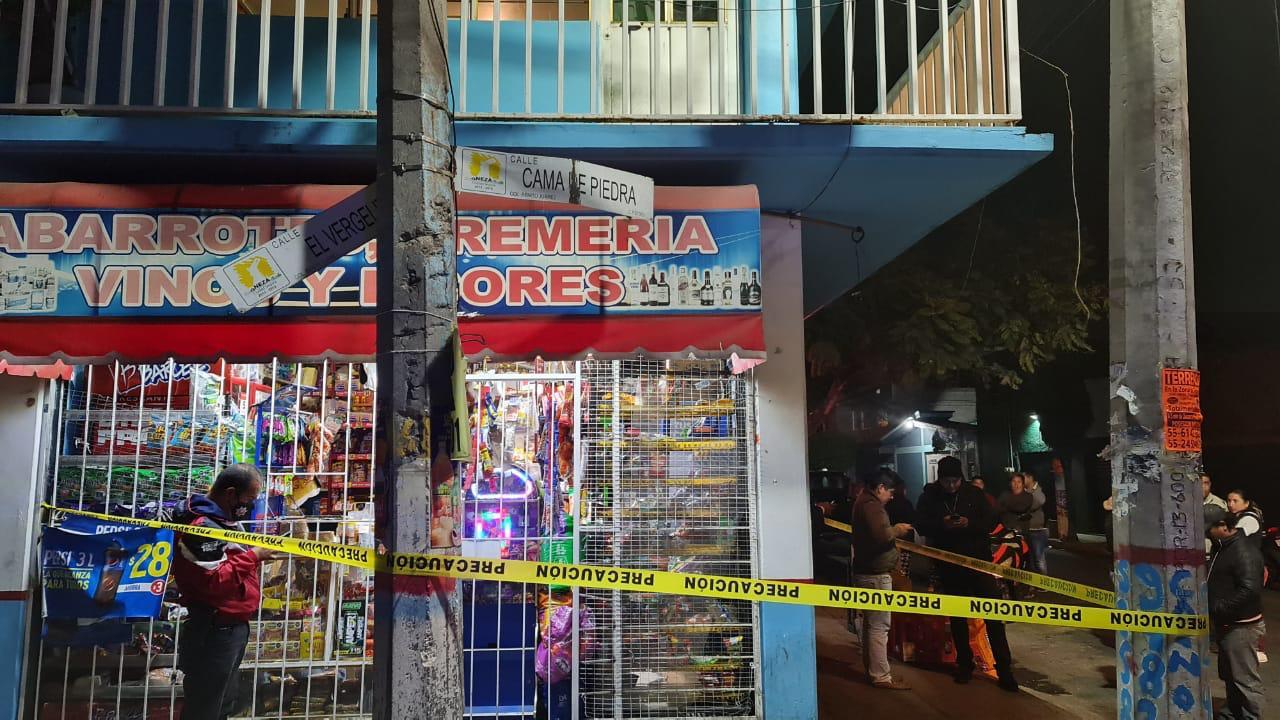 Asesinan a tendero en Nezahualcóyotl.