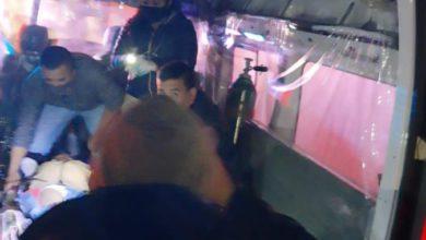 17 personas lesionadas por conductora ebria
