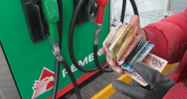 Reducción de venta de gasolina