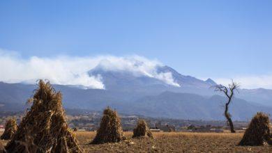 Incendio en el Iztaccihuatl