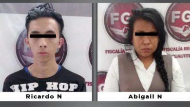 Ricardo 'N' y Abigail 'N', subgerente de Banco Azteca