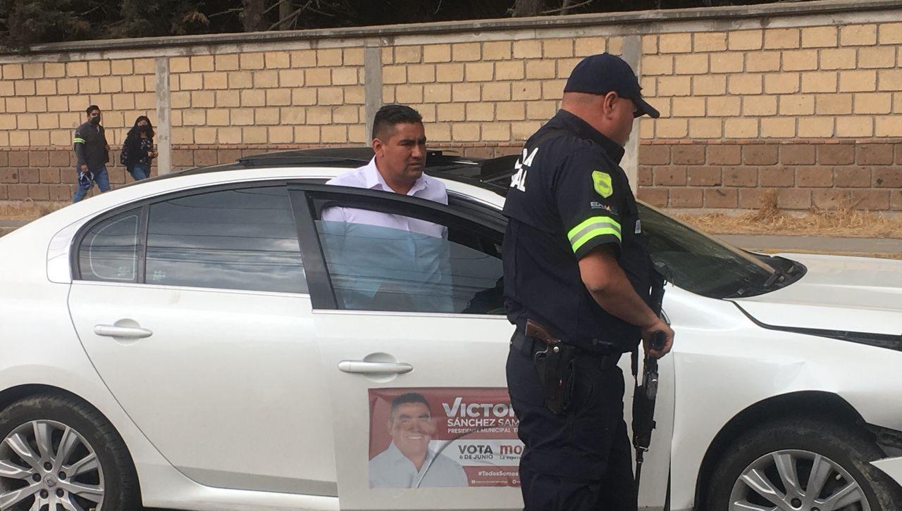 Victorino Sánchez Samaniego presentó la denuncia correspondiente
