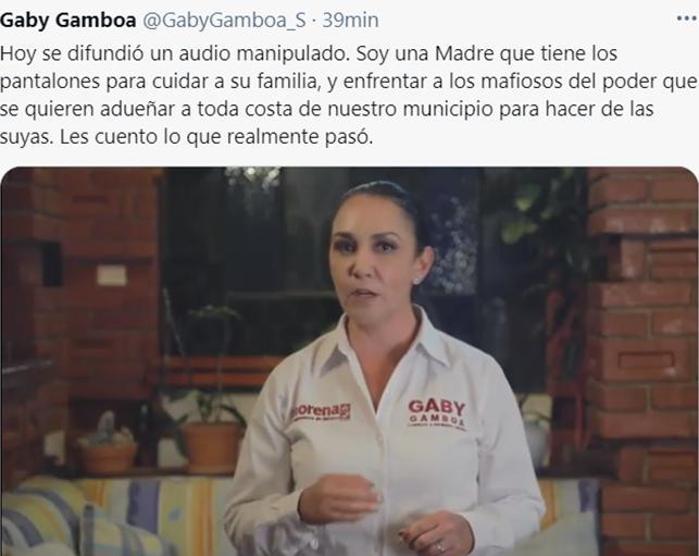 video de Gaby Gamboa