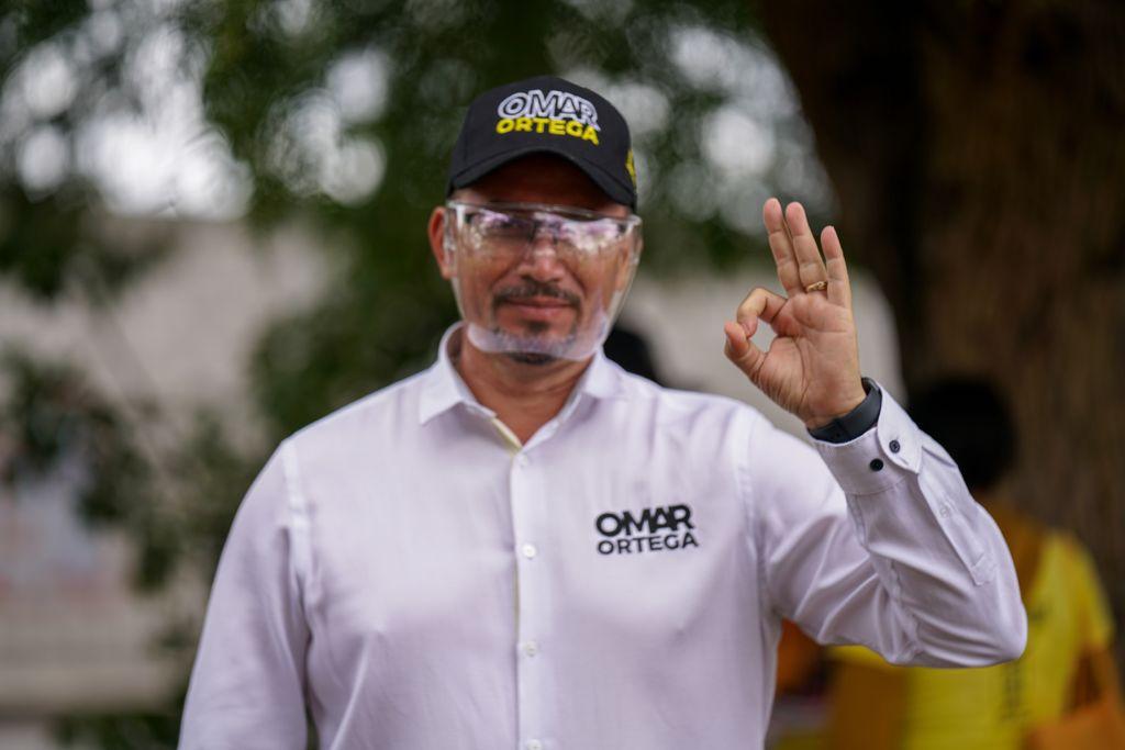 Omar Ortega Álvarez, candidato del PRD a diputado local