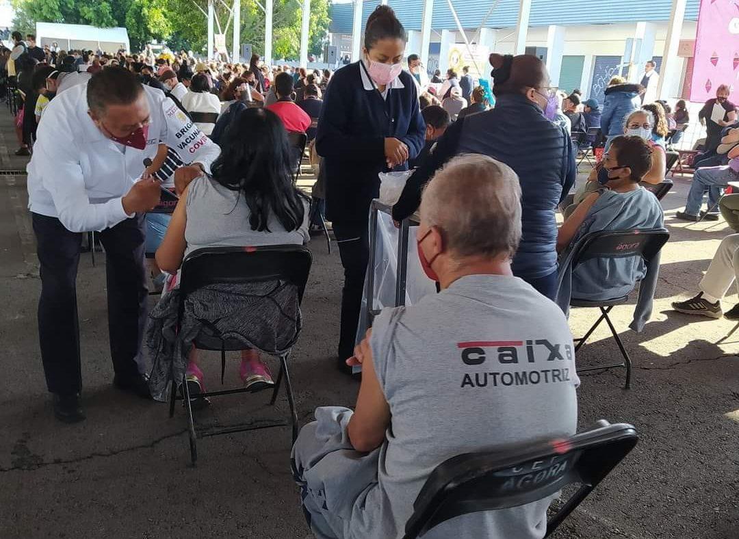 vacunación en Ixtapaluca