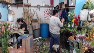 Rolando y Gisela Ávila, quienes se dedican a este negocio desde hace más de 30 años dentro del mercado de Texcoco