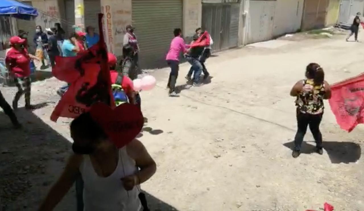 Violencia electoral en Ecatepec