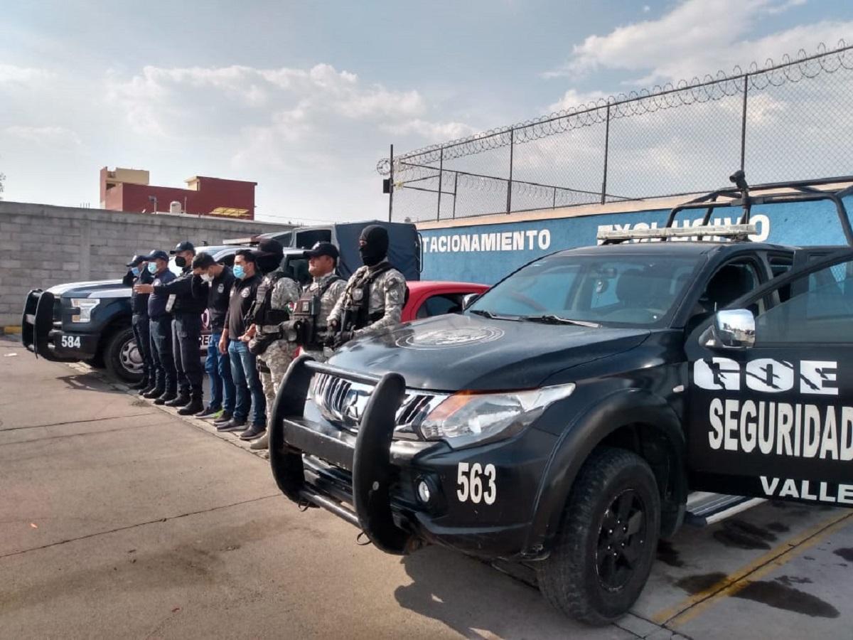 Miembros del patrullaje, Seguridad Pública municipal y Guardia Nacional