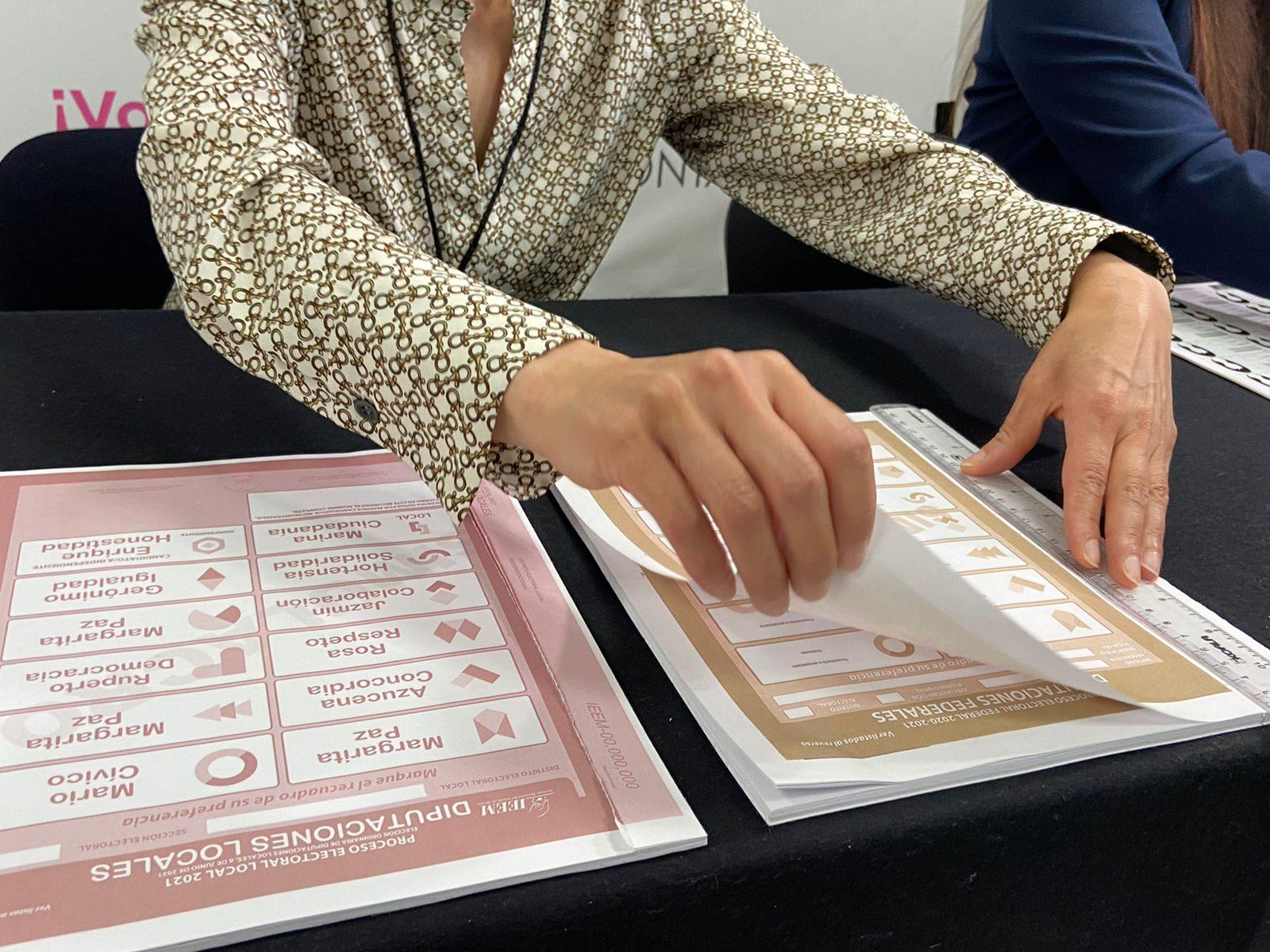 Con apoyo del personal de la Secretaría de Seguridad se trasladará el material electoral