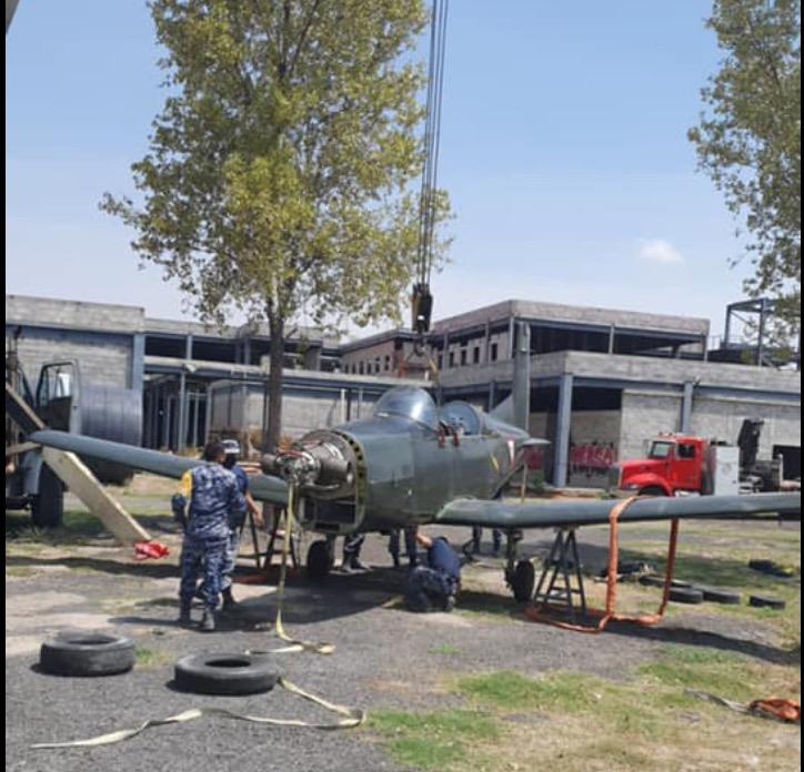 La SEDENA donó la primera aeronave que ayudará a la formación de estudiantes
