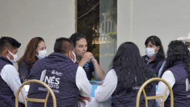 Enrique Vargas en reunión con miembros del PAN