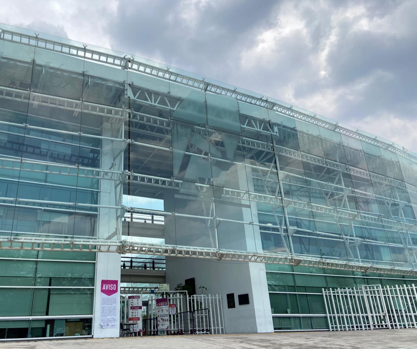 Edificio del IEEM ubicado en Paseo Tollocan, Toluca, Estado de México