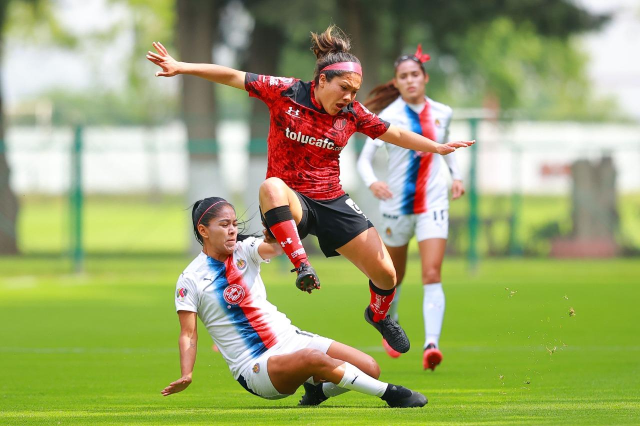 Con un arbitraje polémico Toluca femenil pierde en la Ida de los Cuartos de Final