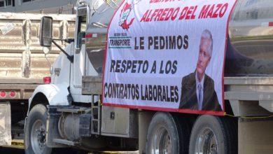 Movilización de transportistas