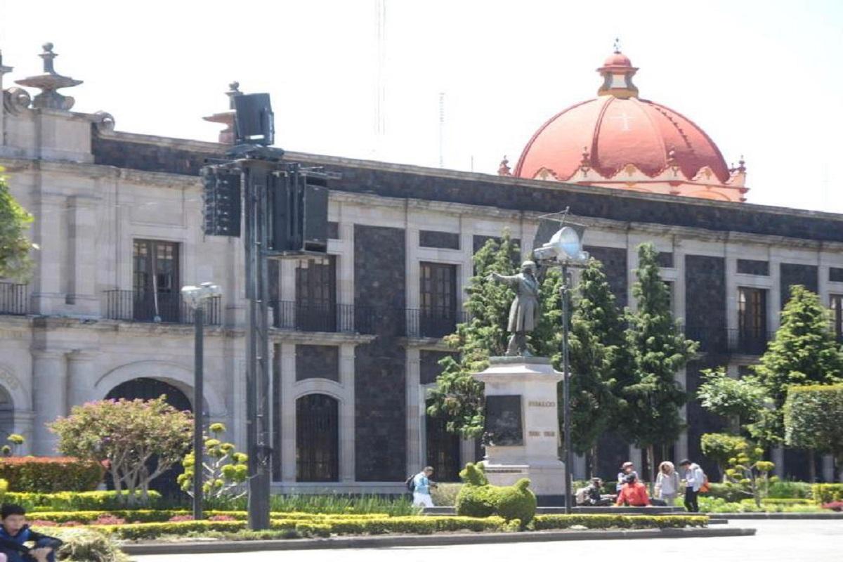 Edificio de la legislatura mexiquense