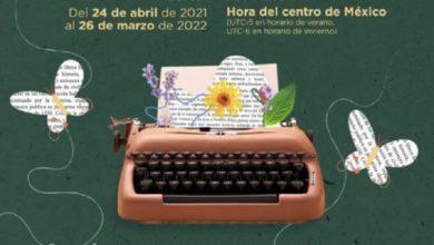 Cartel del seminario de Literatura