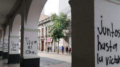 vandalizan Los Portales