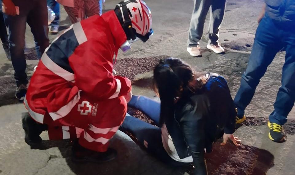 accidente en moto