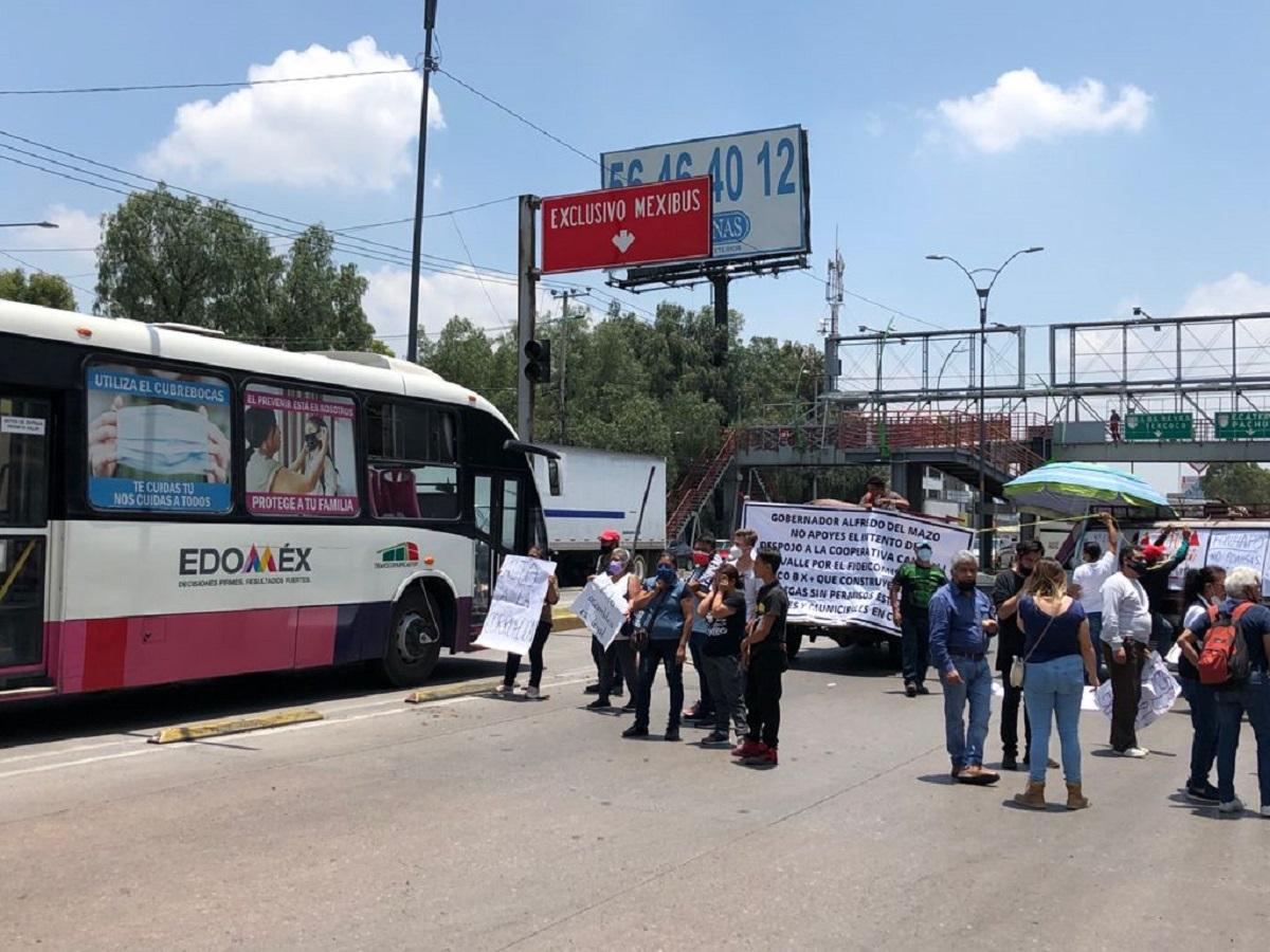 Manifestación por pozo de agua