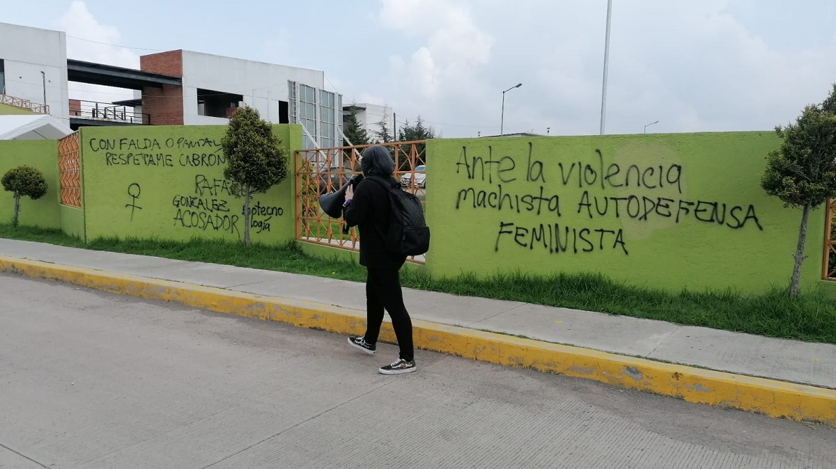 Las feministas en la UPVT
