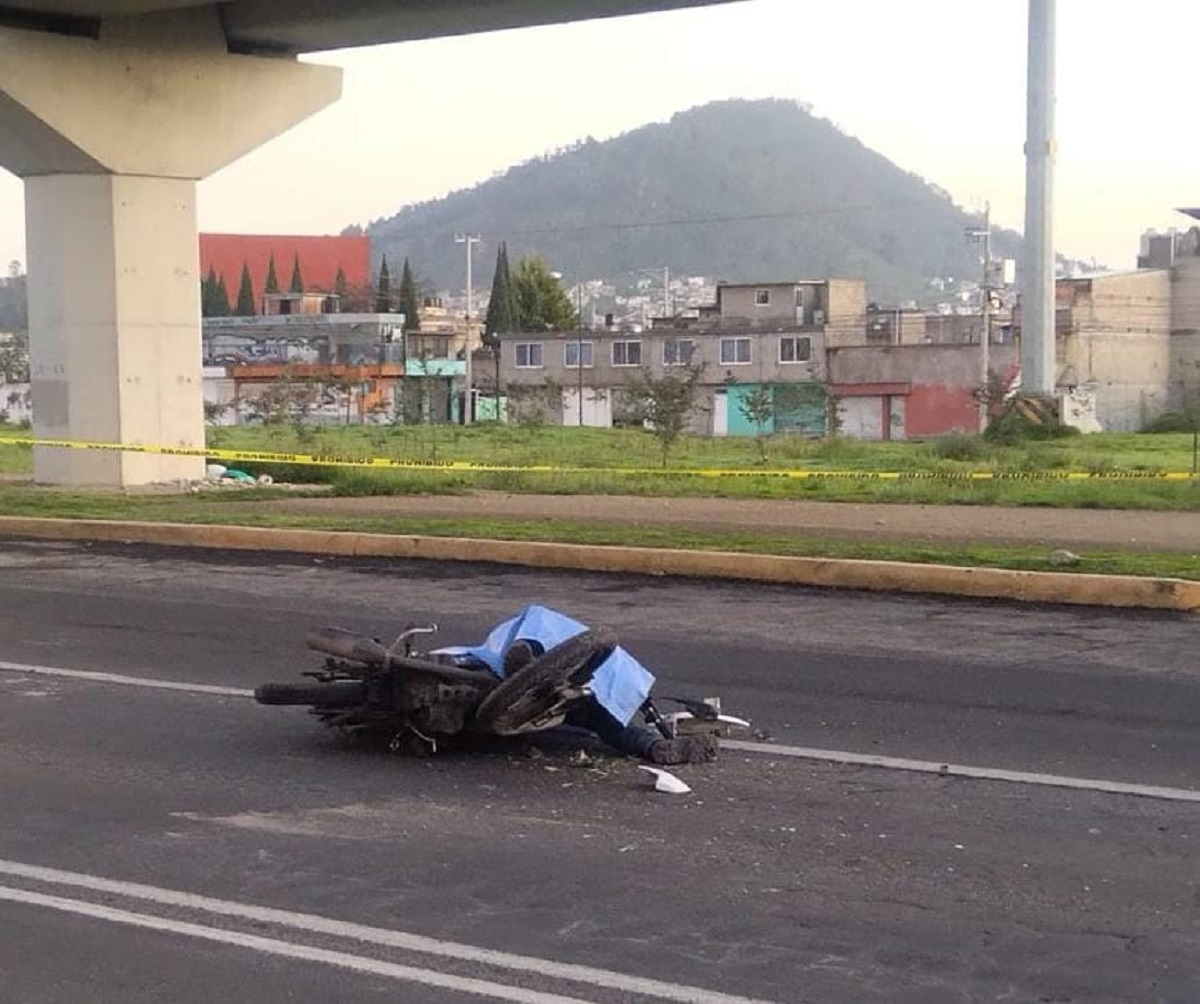 Muere motociclista