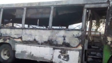 incendia autobús