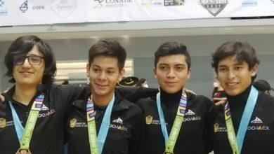 Mexiquenses con medallas