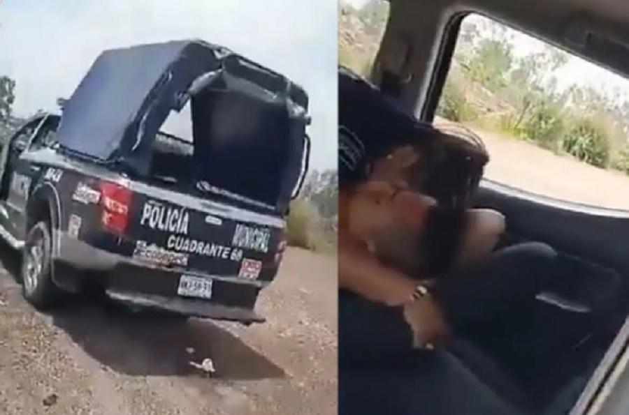 Los policías descubiertos