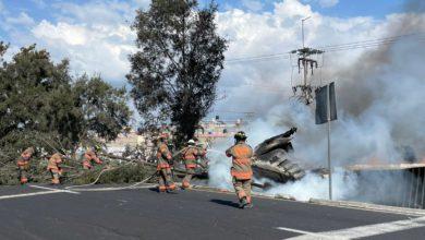 El accidente se registró en la México-Pirámides