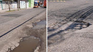 Calles deterioradas