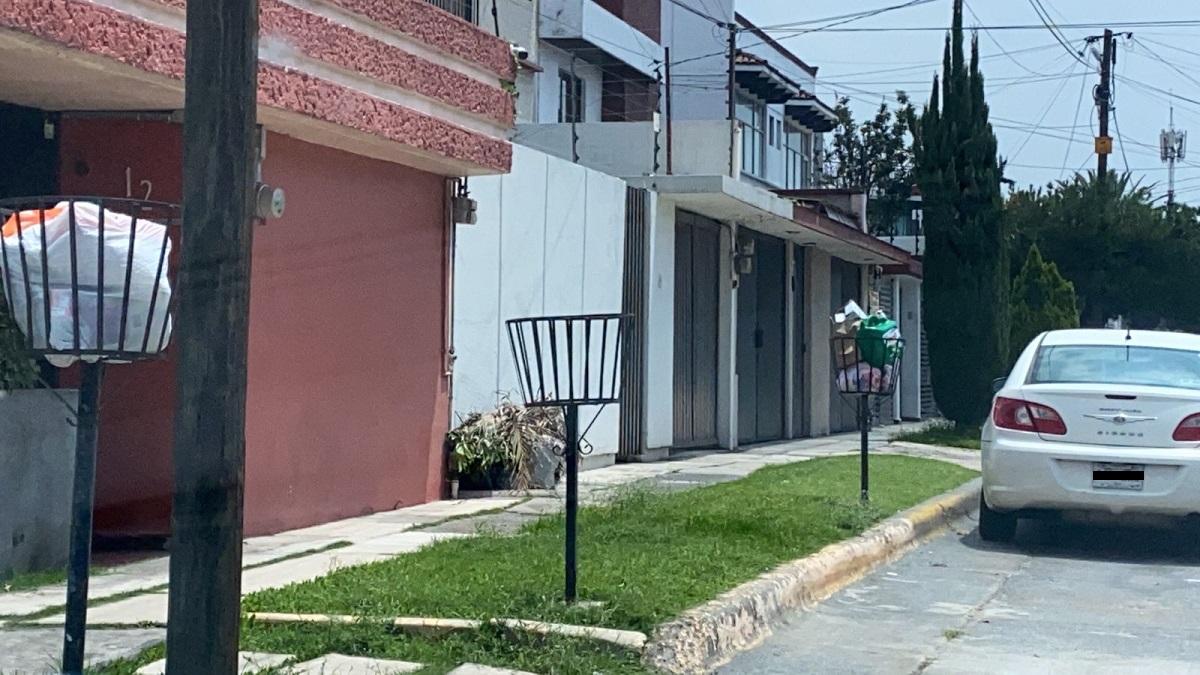 Sin recolección de basura en Naucalpan