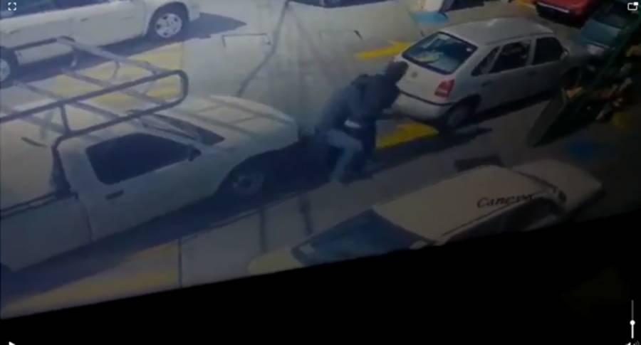 atropellan a ladron