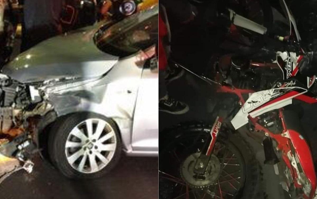 El conductor del vehículo requirió atención médica