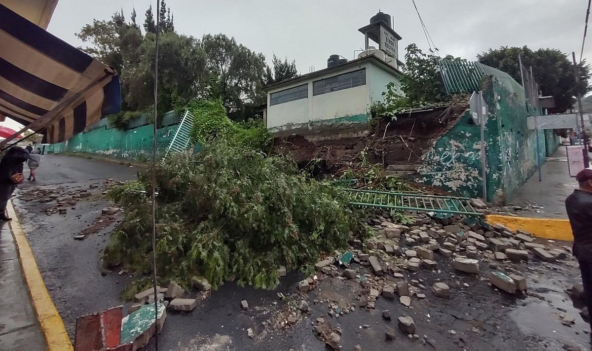 La escuela perdió parte de su infraestructura