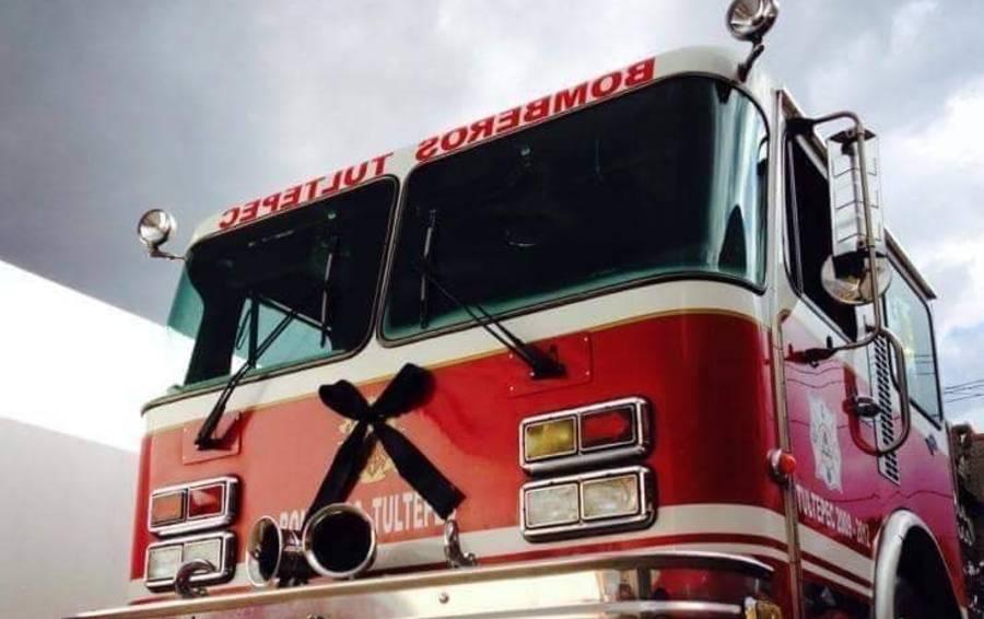 Jefe de bomberos de Tultepec