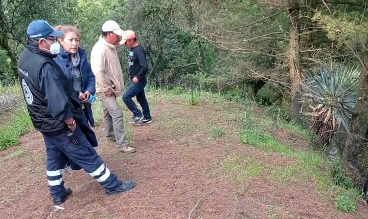 rescatan cuerpo en cascada de Tlanixco