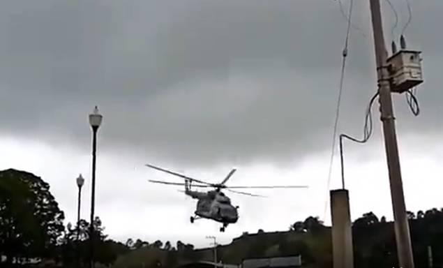 cae helicóptero