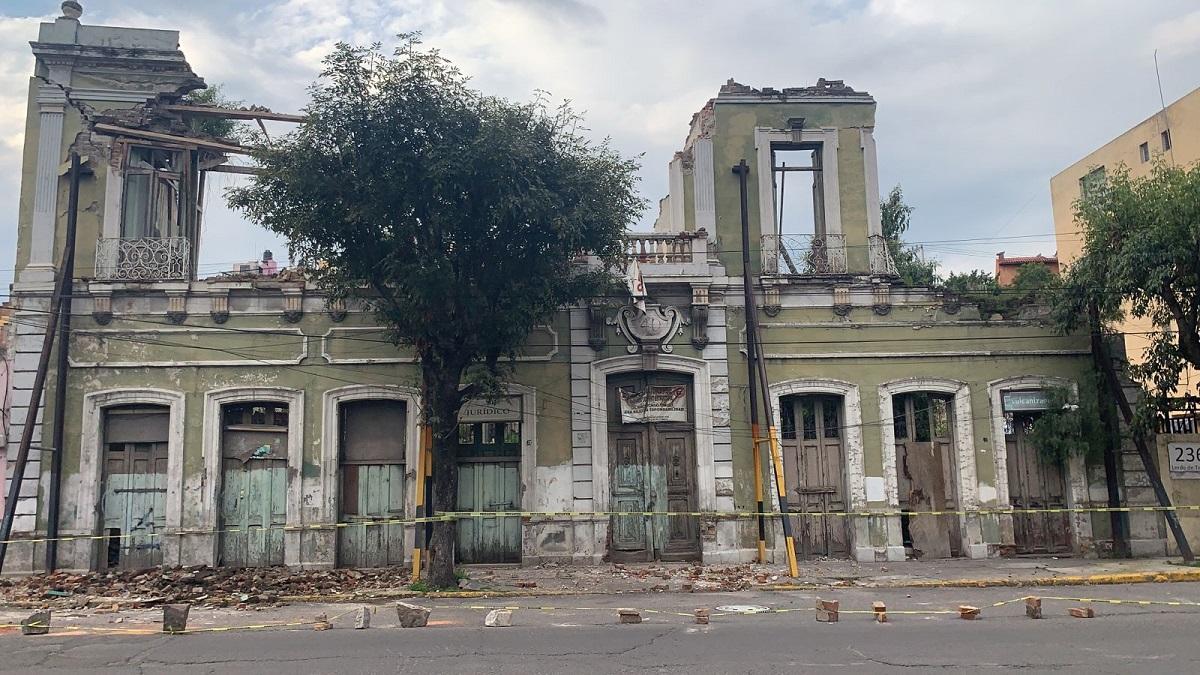 Ya había colapsado el edificio