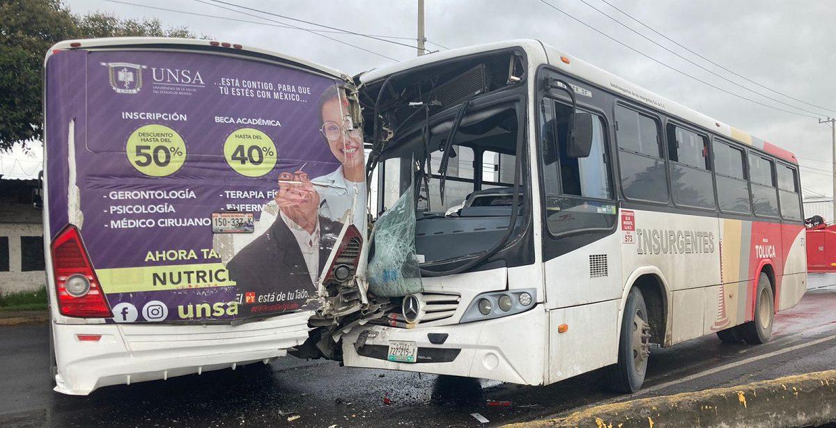 Accidente en la Toluca-Palmillas
