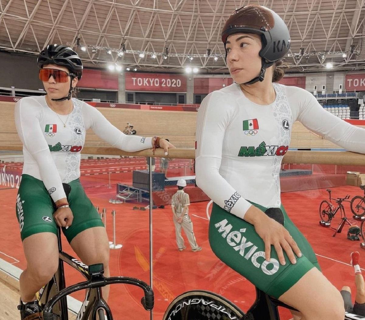 Las ciclistas mexicanas se encuentran en Tokio compitiendo