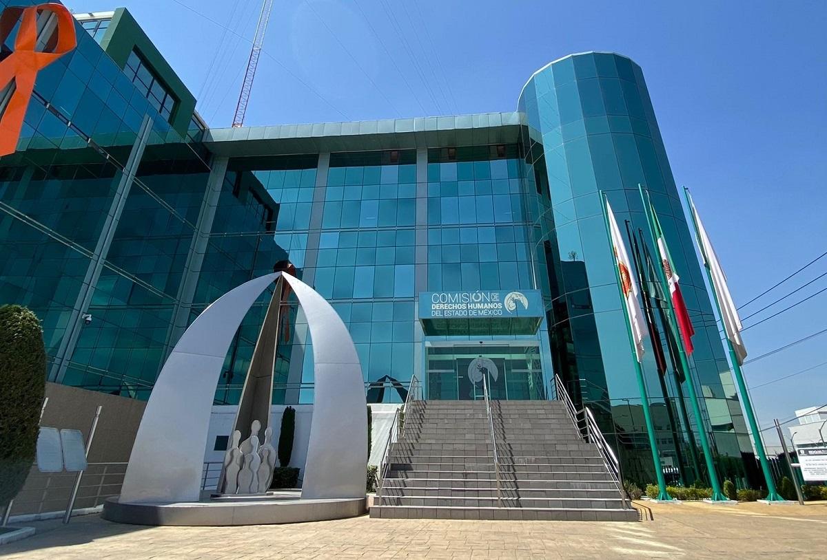 Edificio de la Codhem ubicado en Toluca
