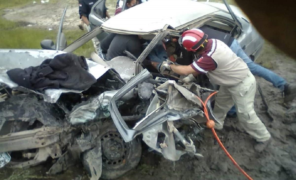 El accidente se registró a la altura del kilómetro 3