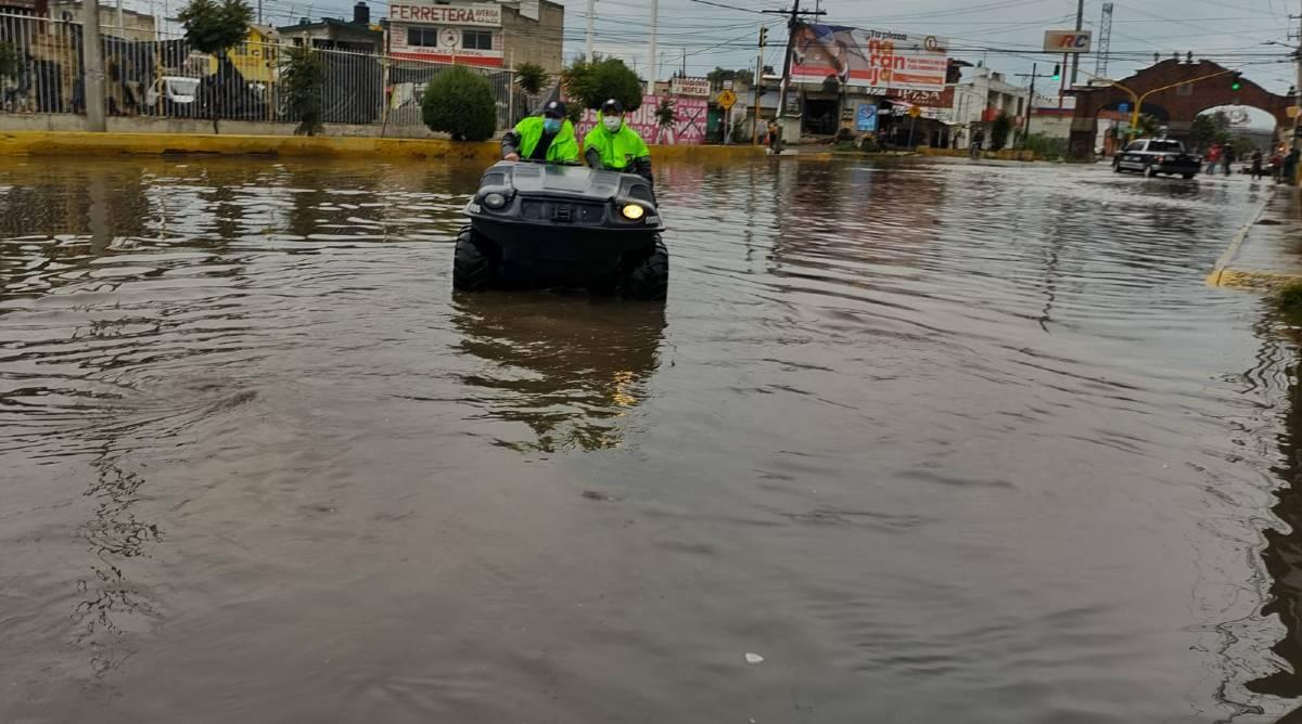encharcamientos en Toluca