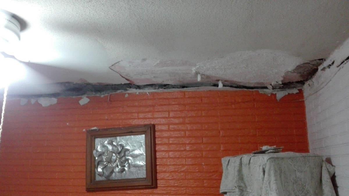 Vecinos han reportado varios daños en viviendas