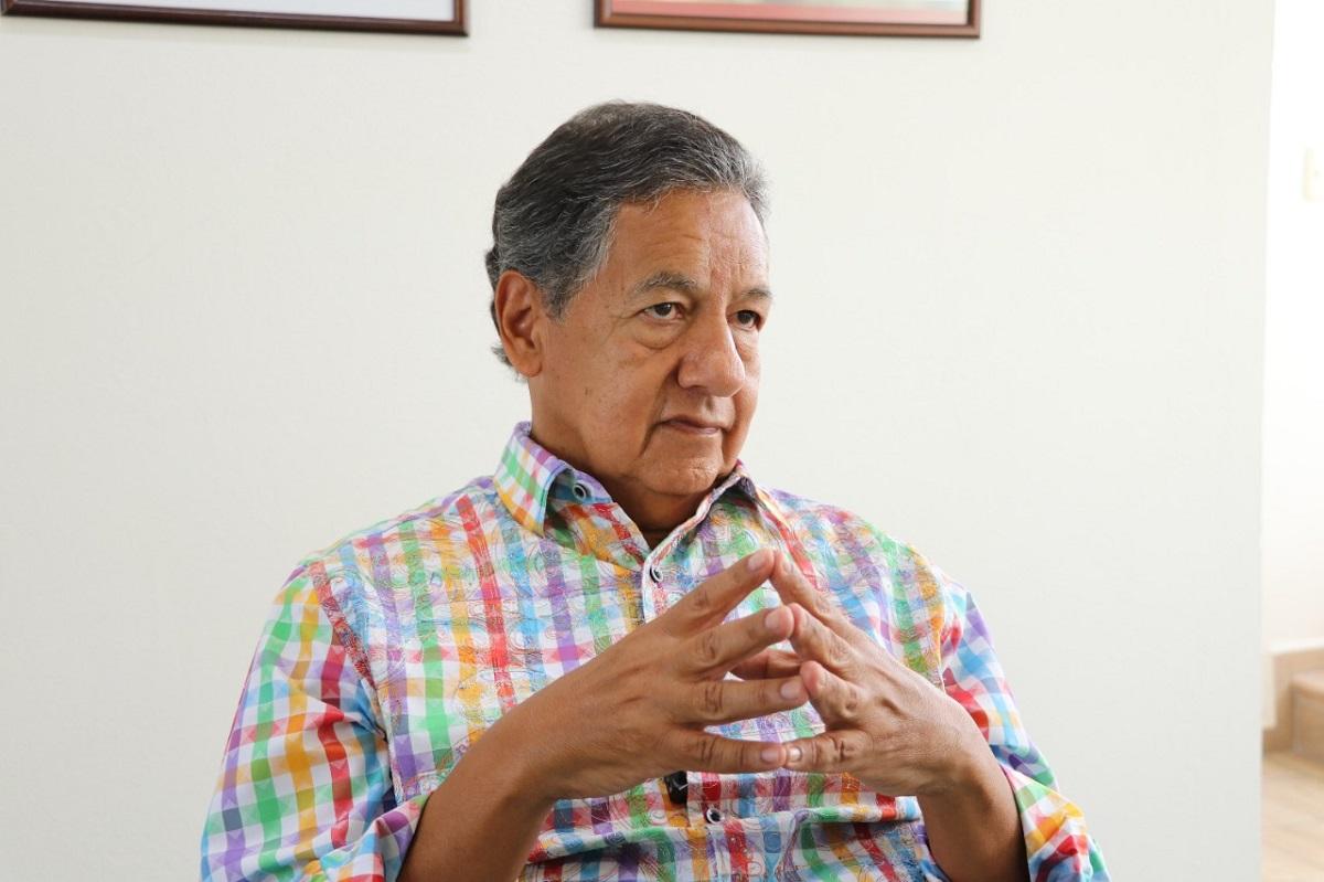 El Senador Higinio Martínez