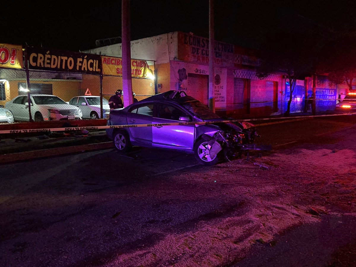 Accidente vial en Toluca