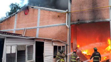 incendio en Tlalnepantla