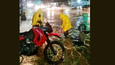 Las lluvias intensas en gran parte del Valle de México