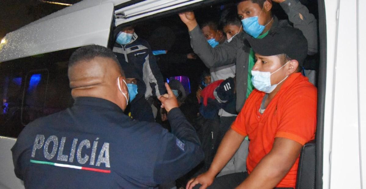 migrantes en Ecatepec